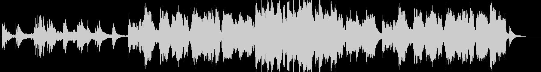 ピアノとフルート主体の優しいヒーリングaの未再生の波形