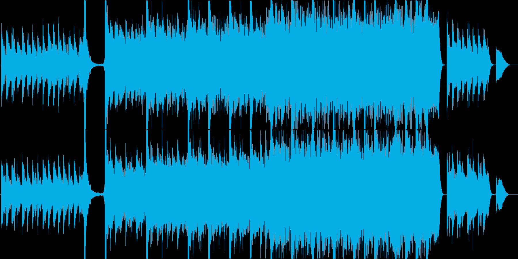 のびやか,感動,加速,勝利,オーケストラの再生済みの波形