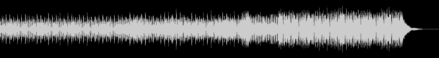 機械の説明をする時のハウスミュージックの未再生の波形