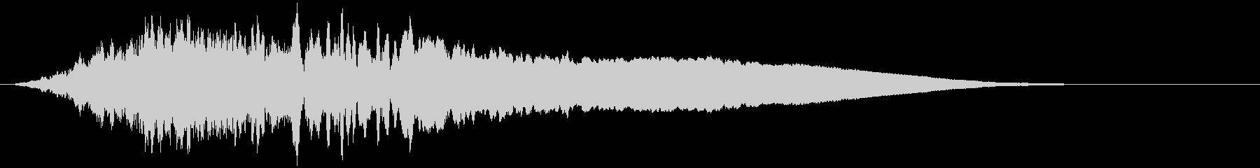 【ホラー演出・重低音】不気味なシーンの未再生の波形