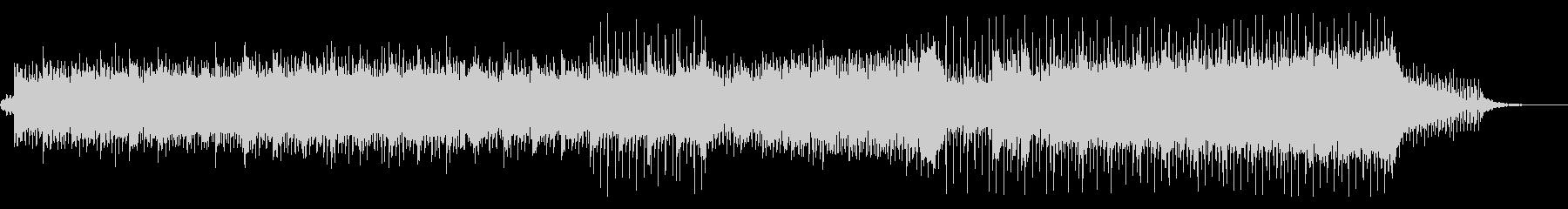 ピアノとアコギがキラキラ綺麗なBGMの未再生の波形