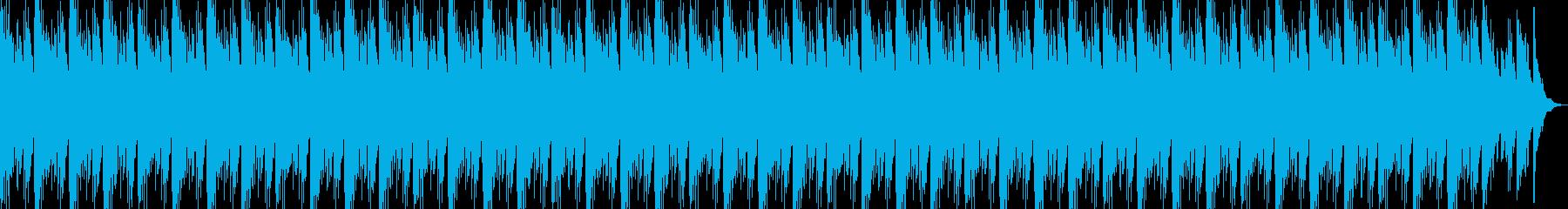 琴が綺麗な和風ジングルの再生済みの波形