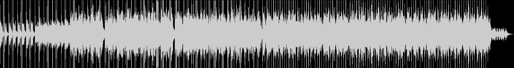 ミドルテンポのエレクトロニカ曲の未再生の波形