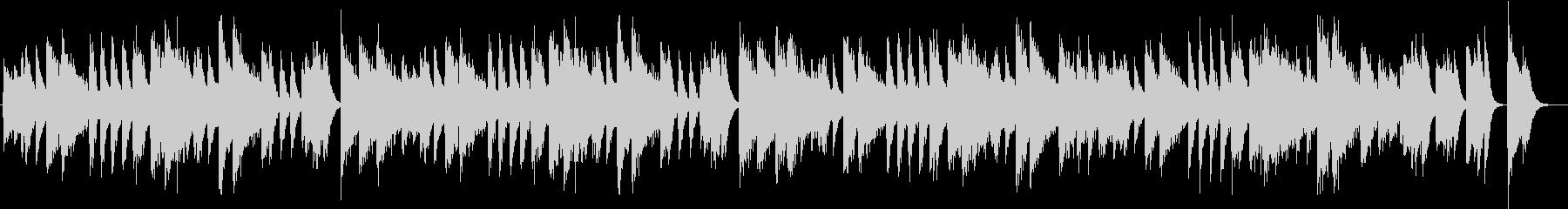アップテンポクールジャズのピアノBGMの未再生の波形