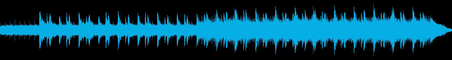 不気味で不吉な心霊体験ホラー ループ仕様の再生済みの波形