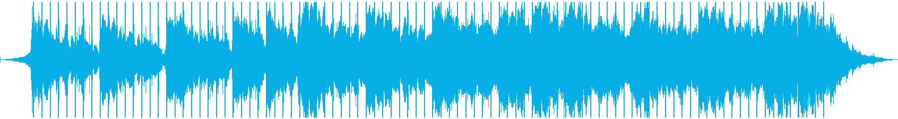 爽やかポップ、60秒ジングルの再生済みの波形