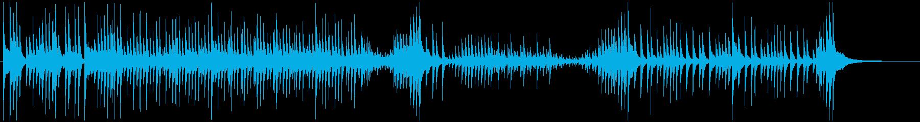 津軽三味線ソロ-G、激しい、疾走、声なしの再生済みの波形