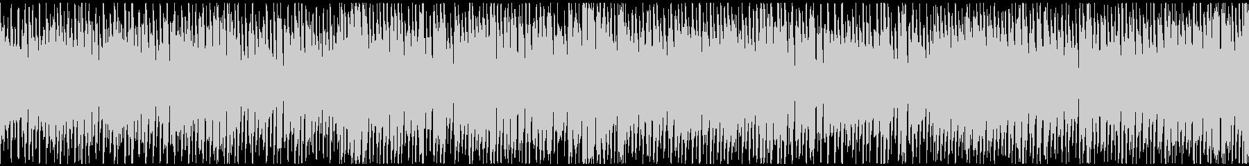 カートゥーン的なドタバタBGM※ループ版の未再生の波形