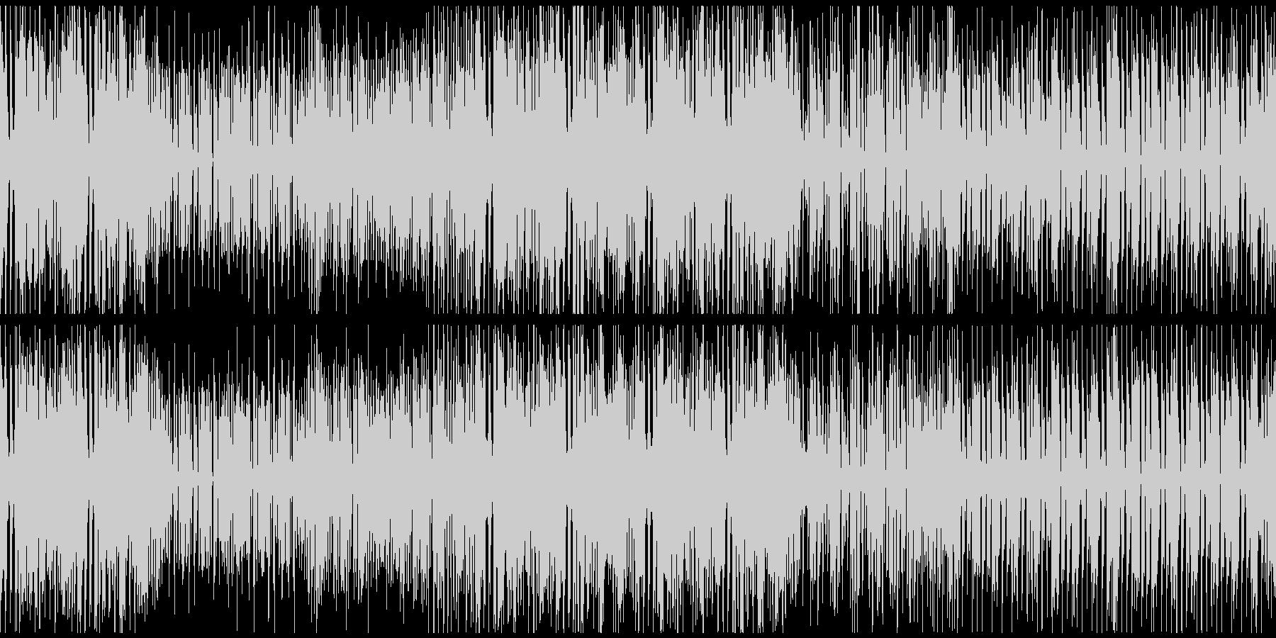 わくわく・ノリノリのポップロックの未再生の波形