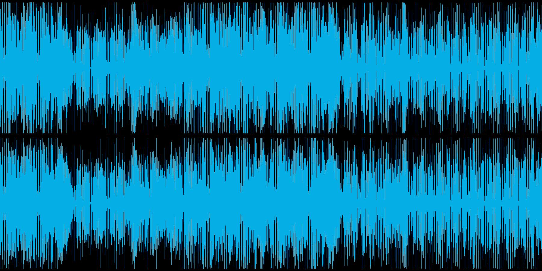 わくわく・ノリノリのポップロックの再生済みの波形