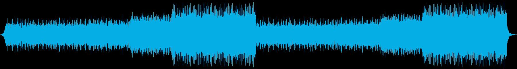 爽やかで温かいエンディングの再生済みの波形