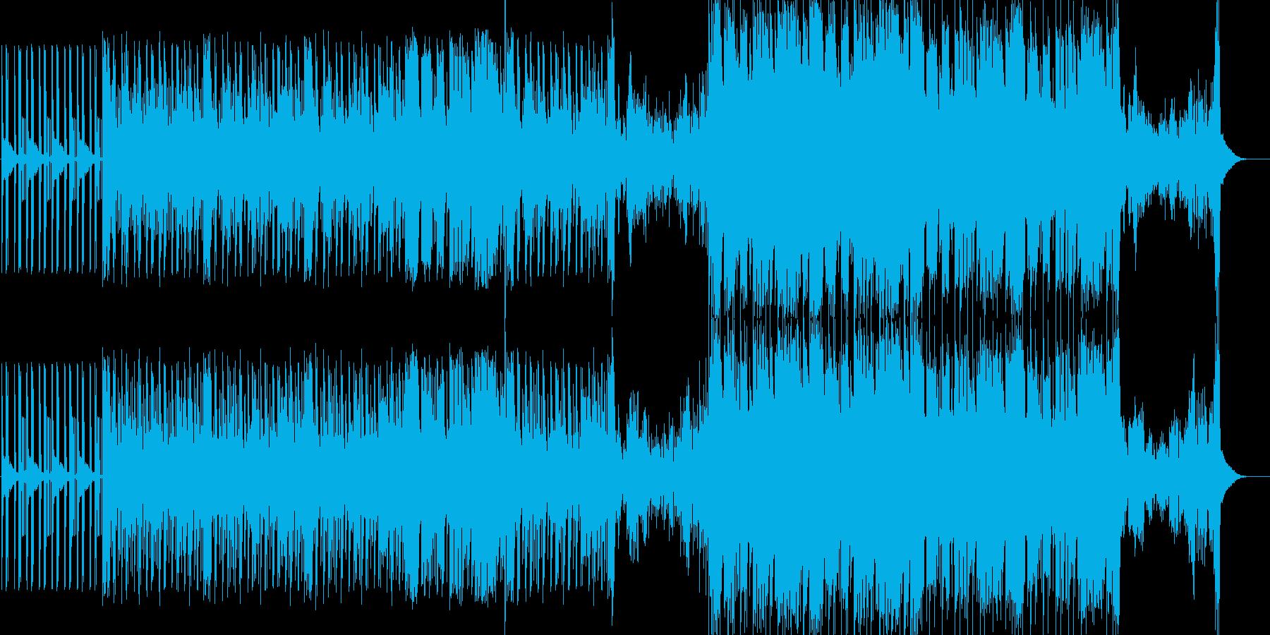 ヒップホップ。コード、ジェネリック...の再生済みの波形