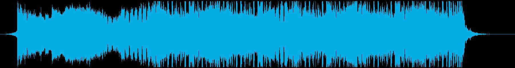VP系9、クラブ系、クール、オシャレBの再生済みの波形