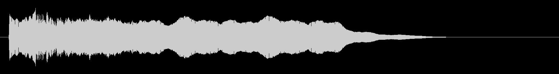 ほら貝 合戦音  の未再生の波形