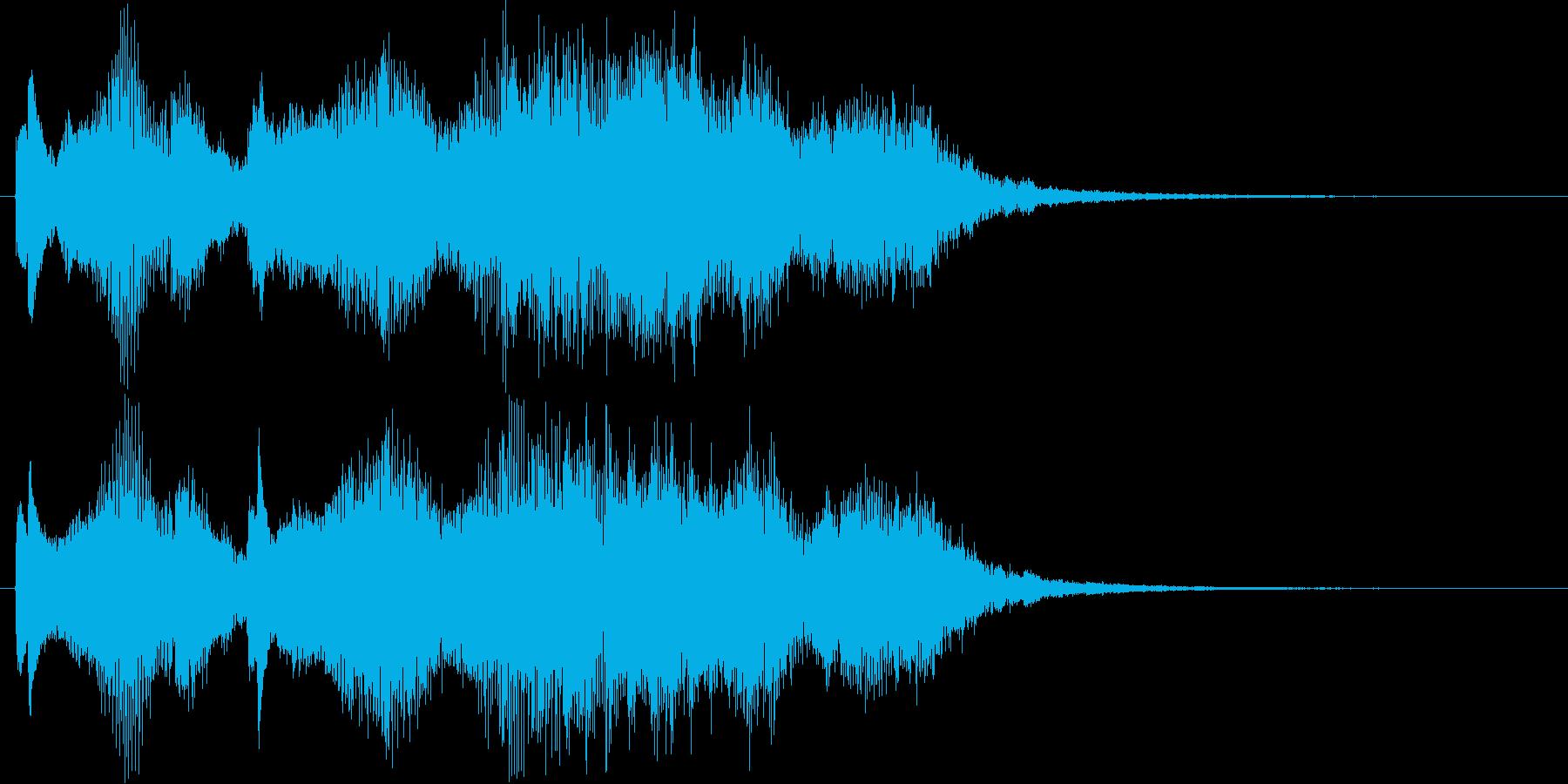 マジカルなシンセ・弦楽器など短めの再生済みの波形