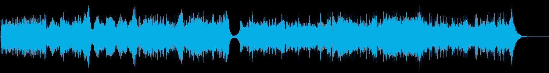 壮大なシネマティック音楽の再生済みの波形