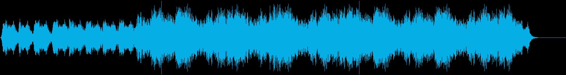 低音ベースのリズミカルなエアリリー...の再生済みの波形