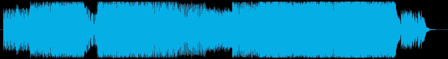 MOON BEAMの再生済みの波形