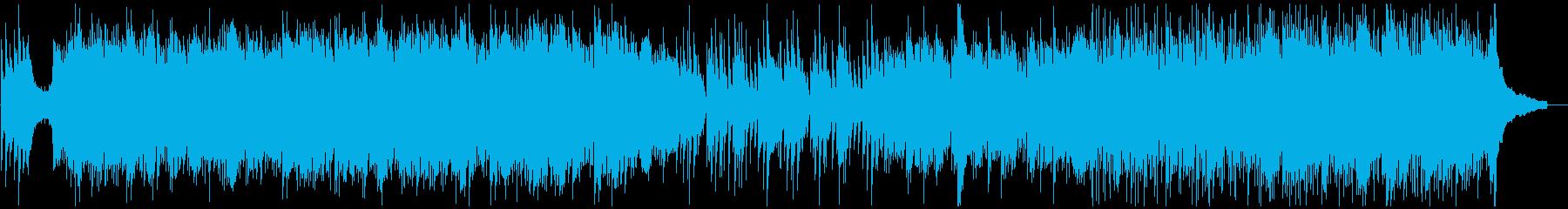 和風。温かく透き通るピアノ・和楽器。の再生済みの波形
