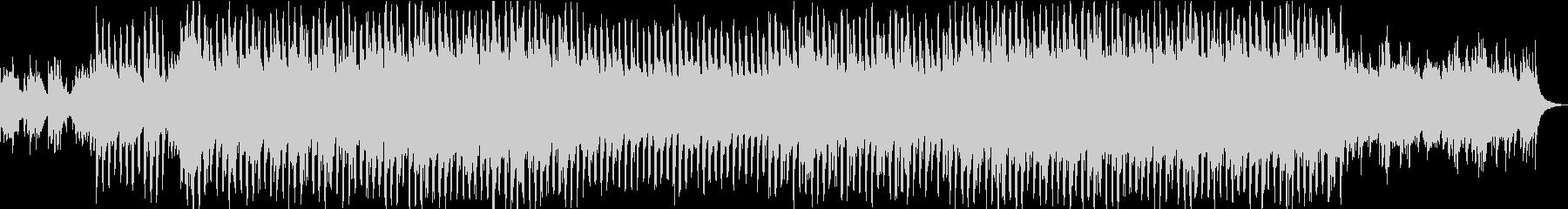 和風の琴と尺八のテクノポップの未再生の波形