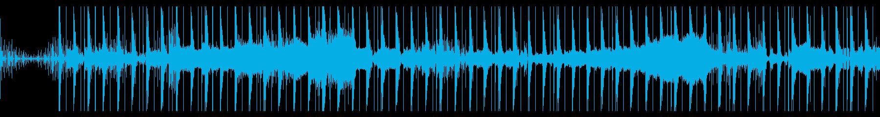 8bitのSEがカオスなエレクトロニカの再生済みの波形