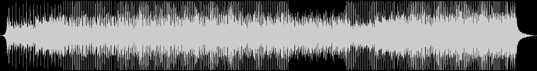 ハッピーミュージックの未再生の波形