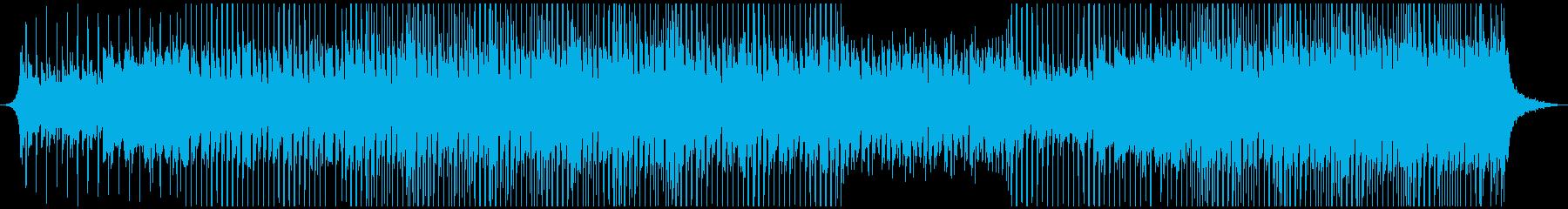 ハッピーミュージックの再生済みの波形