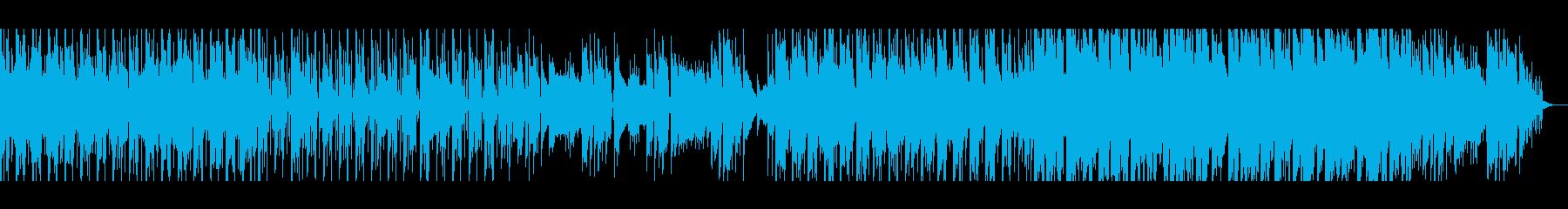 【短いVer2】スペーシーファンクの再生済みの波形