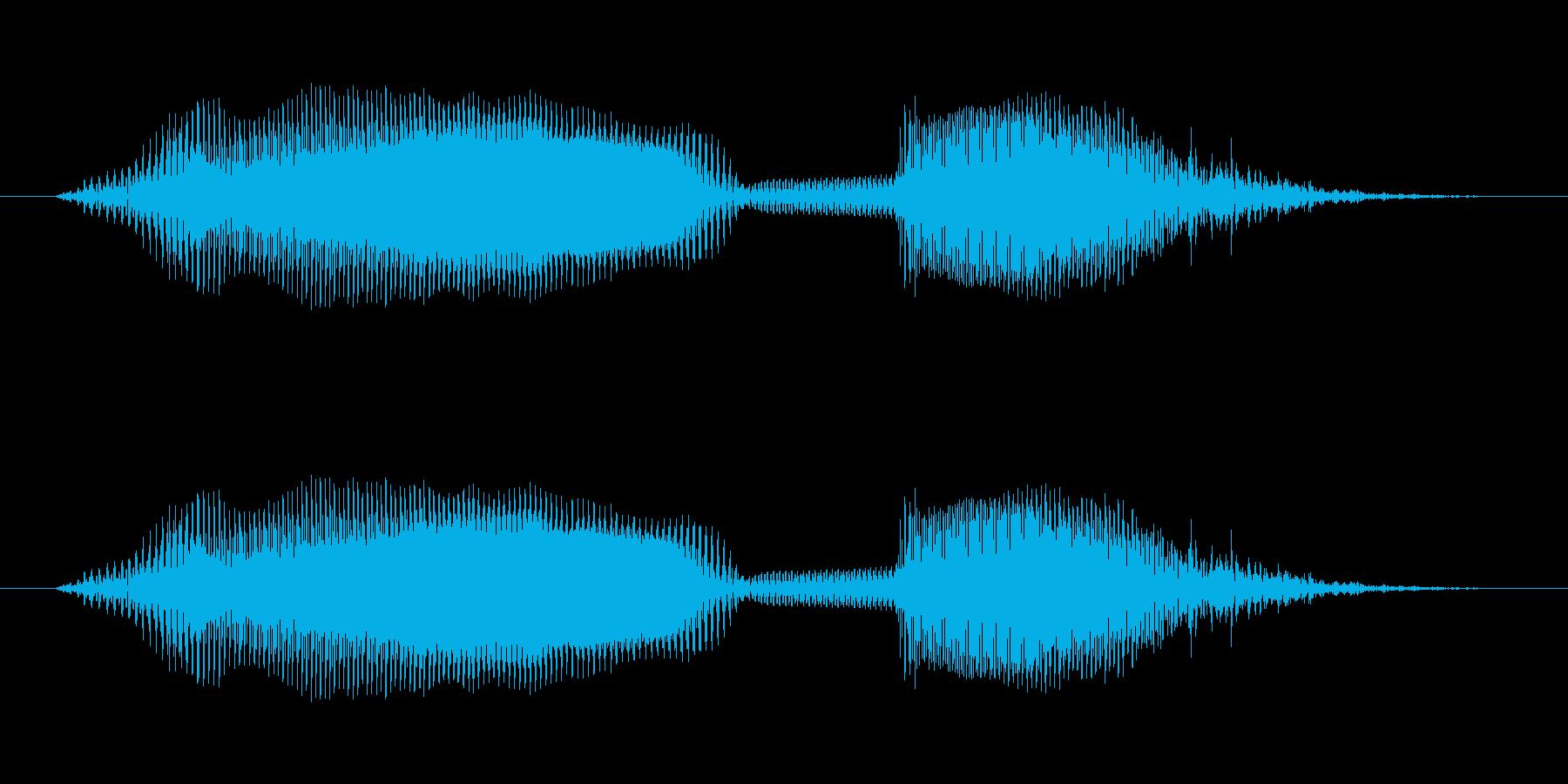 ママ - 幼稚園児女の子(4歳)の再生済みの波形