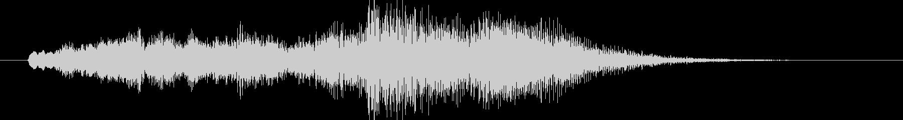 音楽ロゴ;ストリングスとシンセによ...の未再生の波形