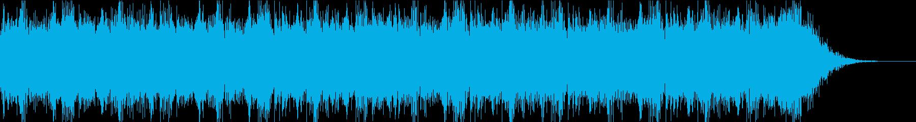 緊迫感 オーケストラの再生済みの波形