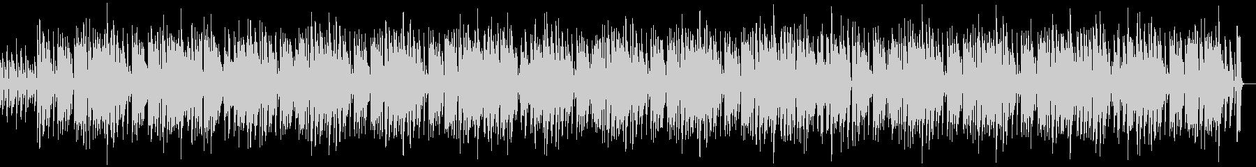 ピアノの明るく陽気なBGM OP ポップの未再生の波形