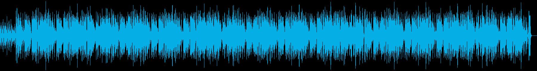 ピアノの明るく陽気なBGM OP ポップの再生済みの波形