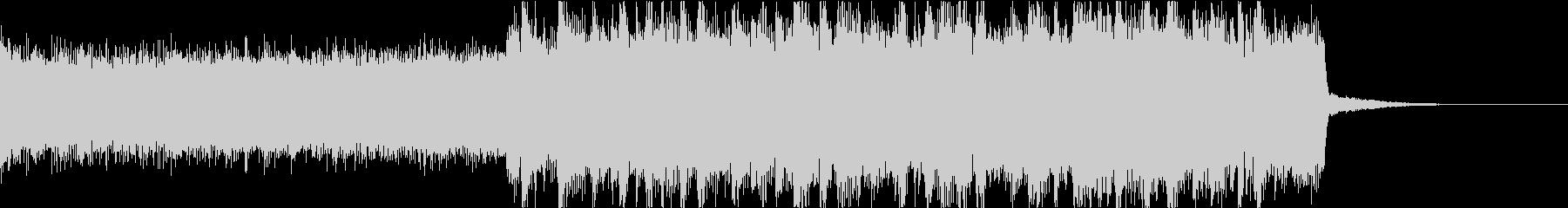 激しいゴリゴリロック♪バトル♪ジングル2の未再生の波形