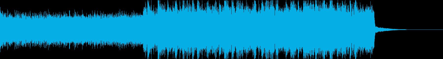 激しいゴリゴリロック♪バトル♪ジングル2の再生済みの波形