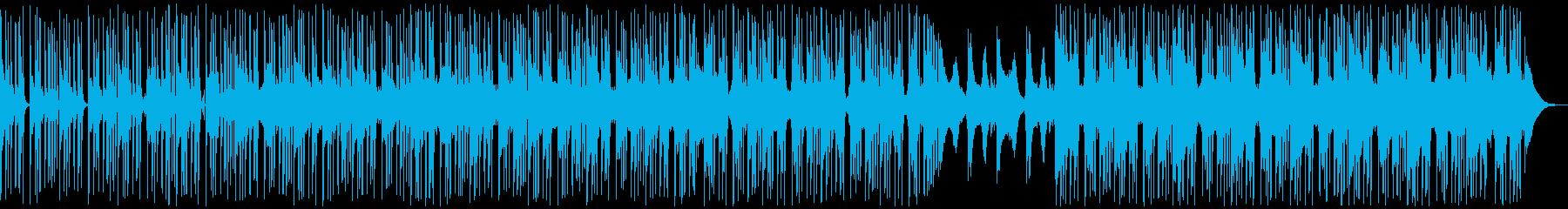 チルアウトなビートミュージックの再生済みの波形