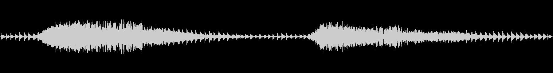 幽霊、怪談のSE ループの未再生の波形