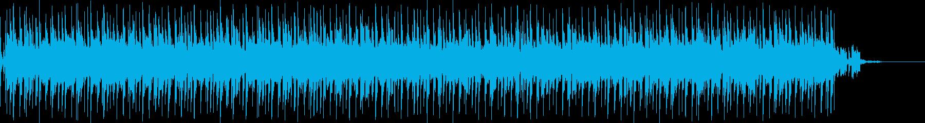 ダンス/ポップス系。ストリングスおよ…の再生済みの波形