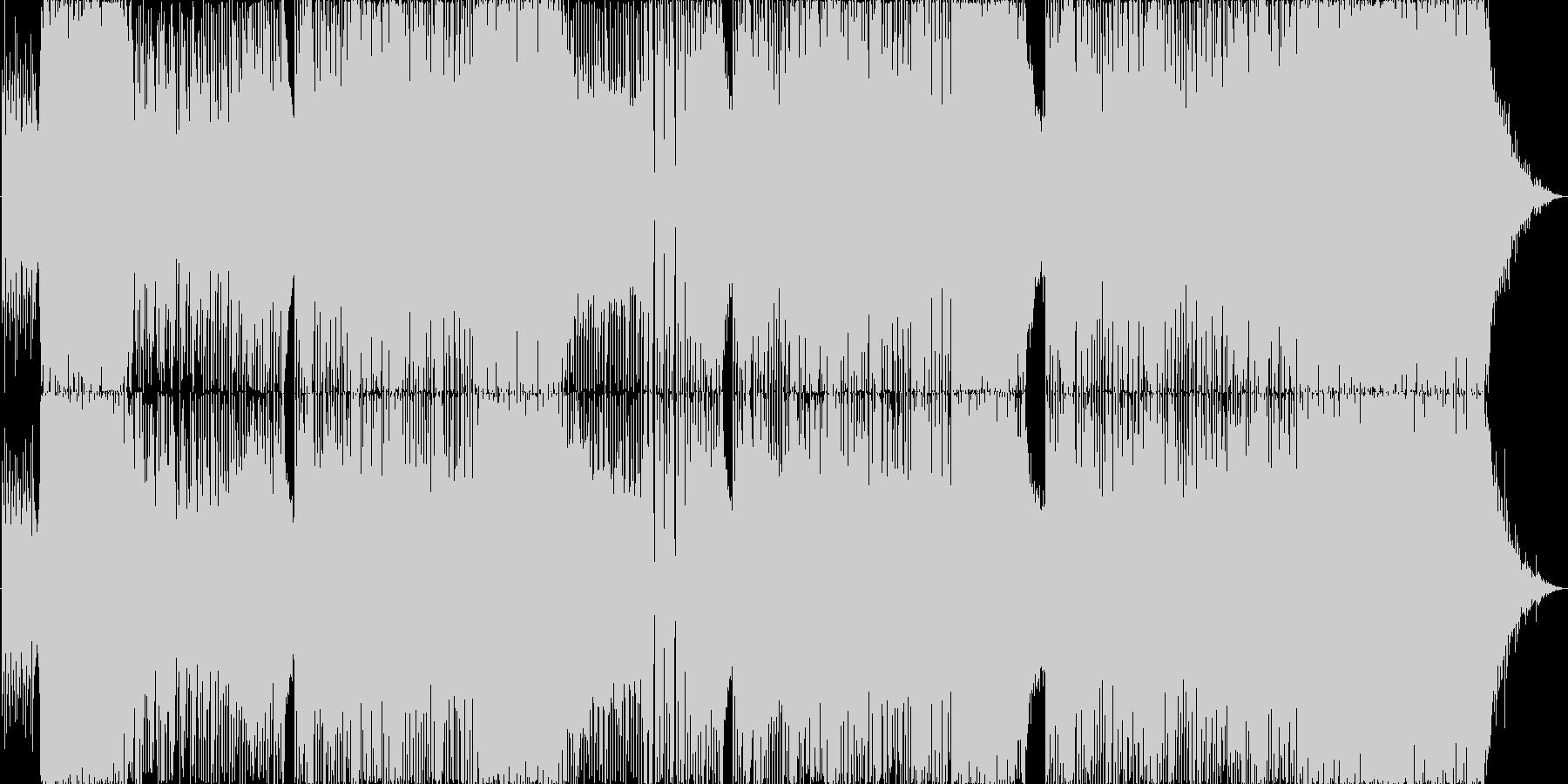 波音を感じるハッピーサマーチューンの未再生の波形