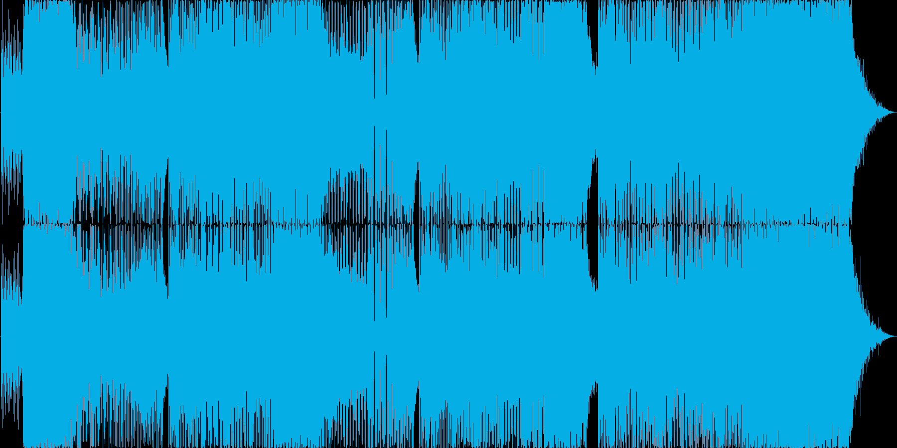 波音を感じるハッピーサマーチューンの再生済みの波形