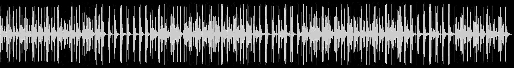 YouTube カリンバ・ほのぼのの未再生の波形