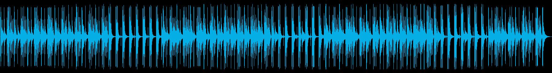 YouTube カリンバ・ほのぼのの再生済みの波形