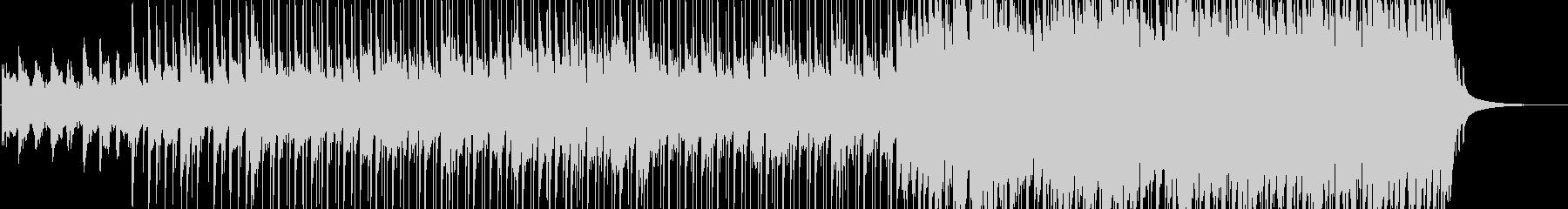 広大な大地で重たいチェロのメロディの未再生の波形
