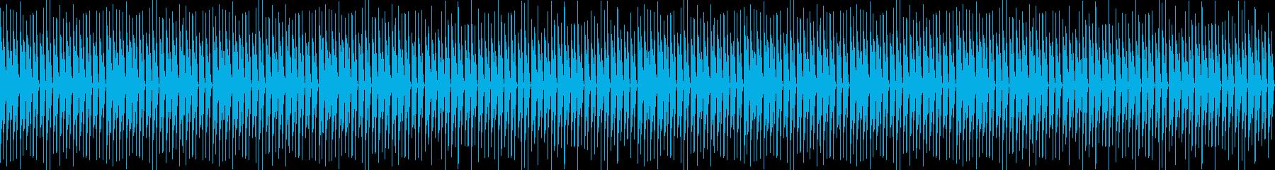 レトロ、ゲーム、ピコピコ、軽快、ループ2の再生済みの波形