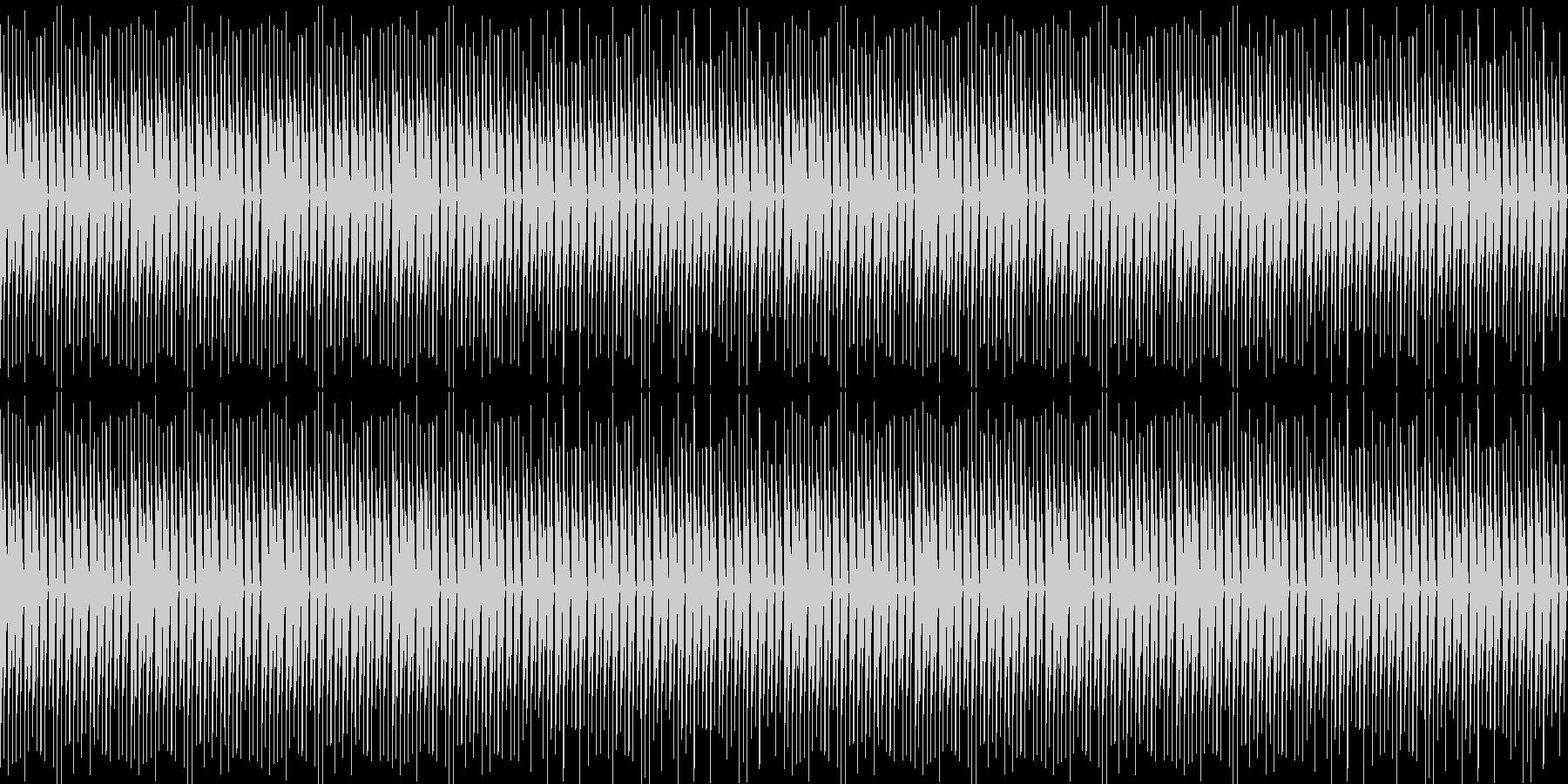 レトロ、ゲーム、ピコピコ、軽快、ループ2の未再生の波形