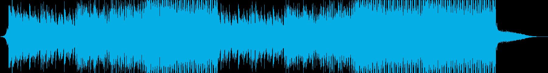 夏にぴったりな切ない爽やかEDM の再生済みの波形
