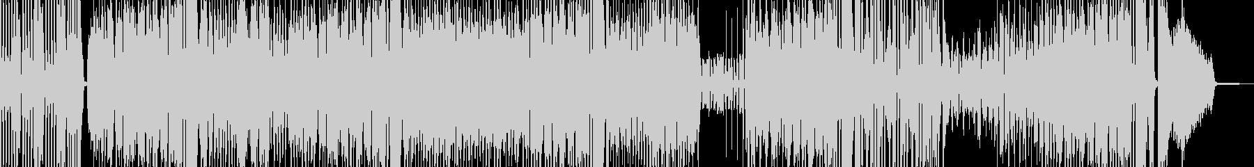 カートゥーン調のブラスジャズ 打楽器有の未再生の波形