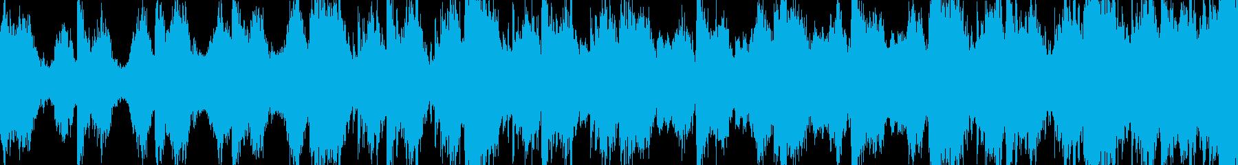 マジで怖いホラーBGMの再生済みの波形