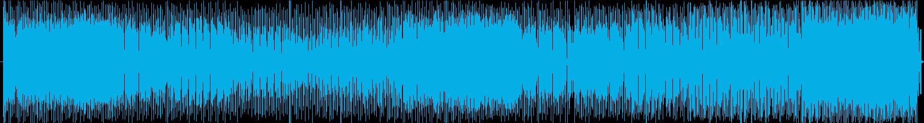 エレクトリック テクノ風の再生済みの波形