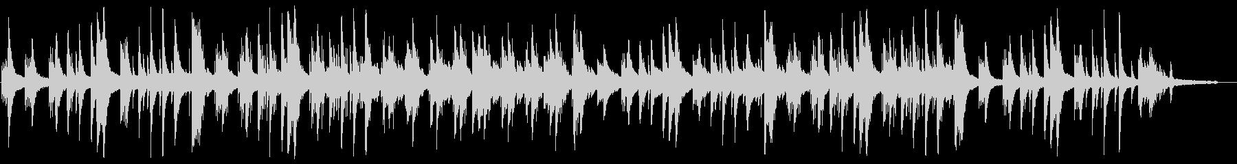 切ないピアノのチルアウト、Lofiの未再生の波形